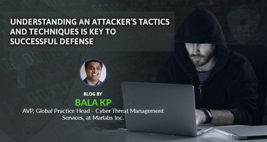 Understanding an attacker's tactics and techniques is key to successful defense